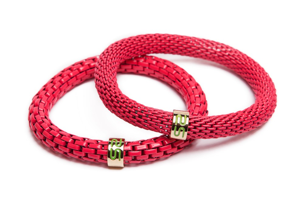 The Snake Mix Fuchsia | Pink Silis Bracelet
