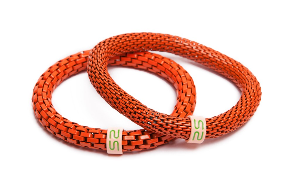 The Snake Mix Orange | Silis Bracelet