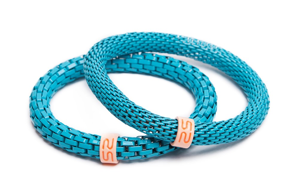 The Snake Mix Turquoise | Blue Silis Bracelet