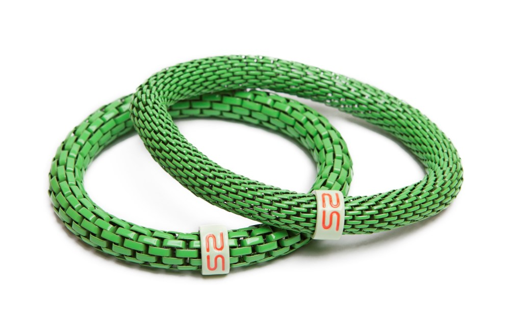 The Snake Mix Green | Silis Bracelet