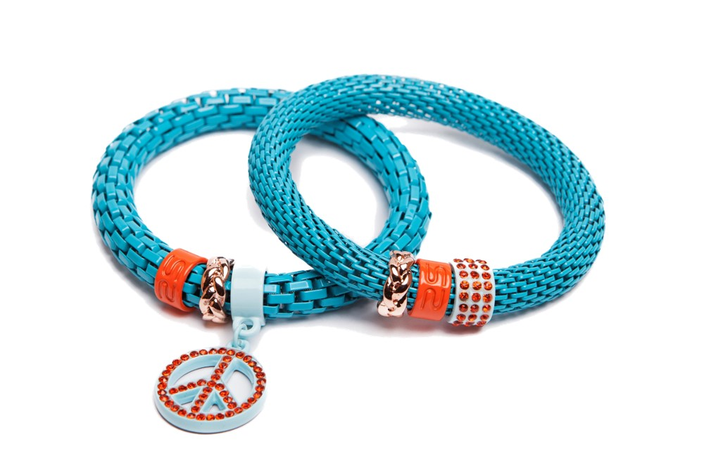The Snake Strass | Turquoise & Peace