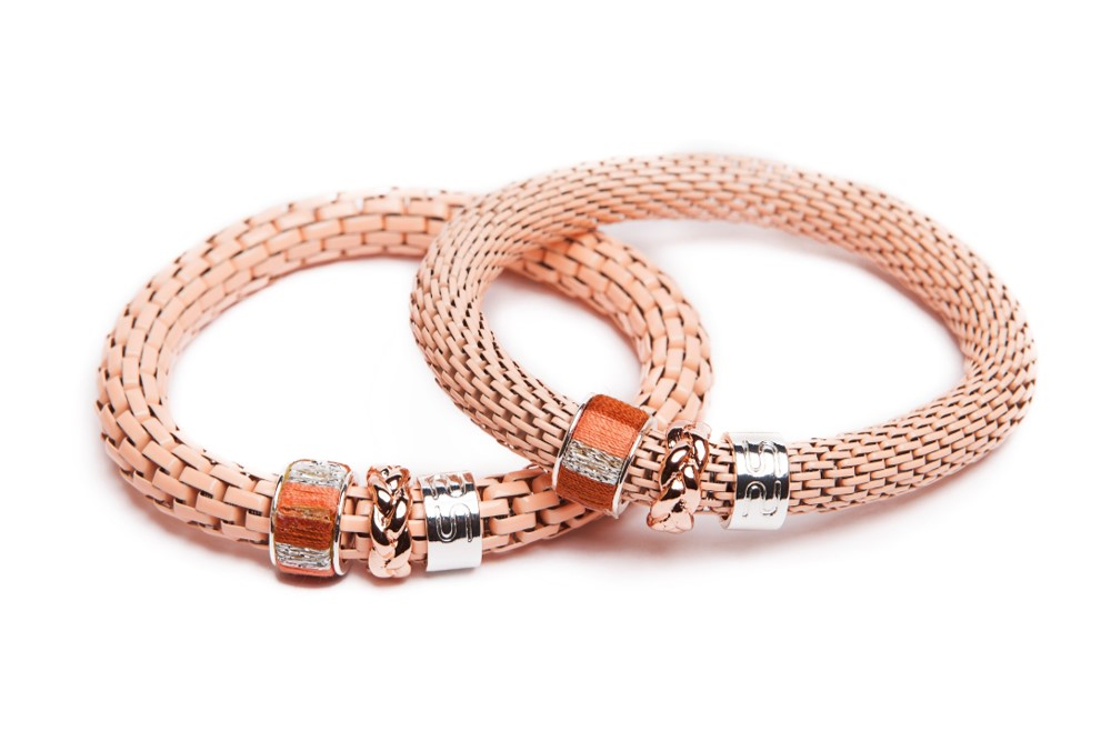 The Snake Strass | Peach & Cord