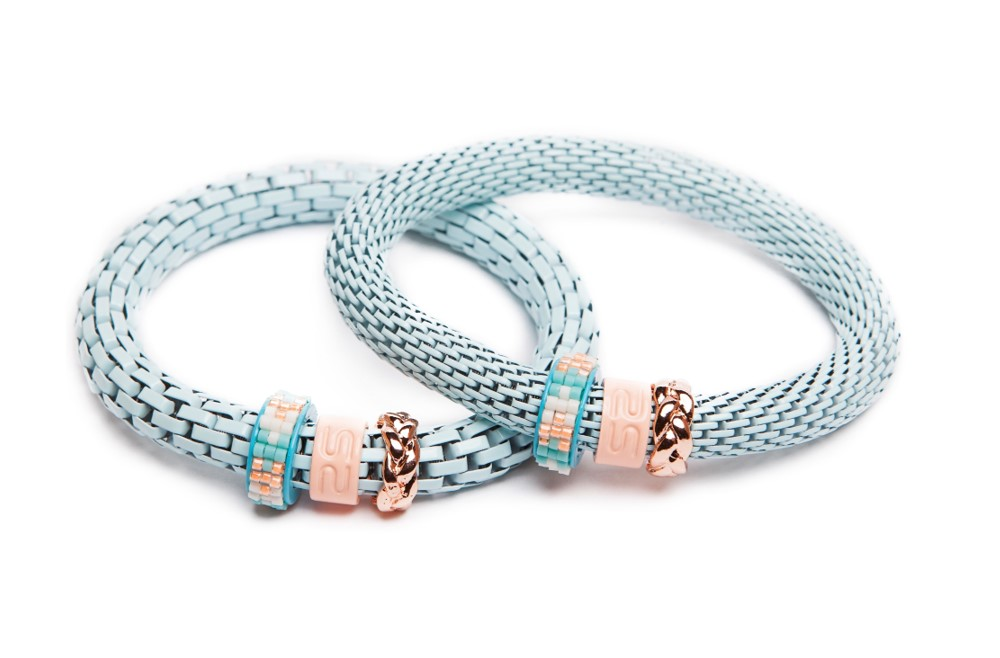 THE SNAKE STRASS | LIGHT BLUE & MIYUKI