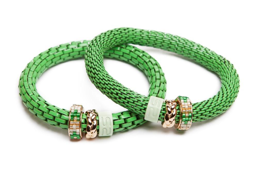 The Snake Strass | Green & Miyuki