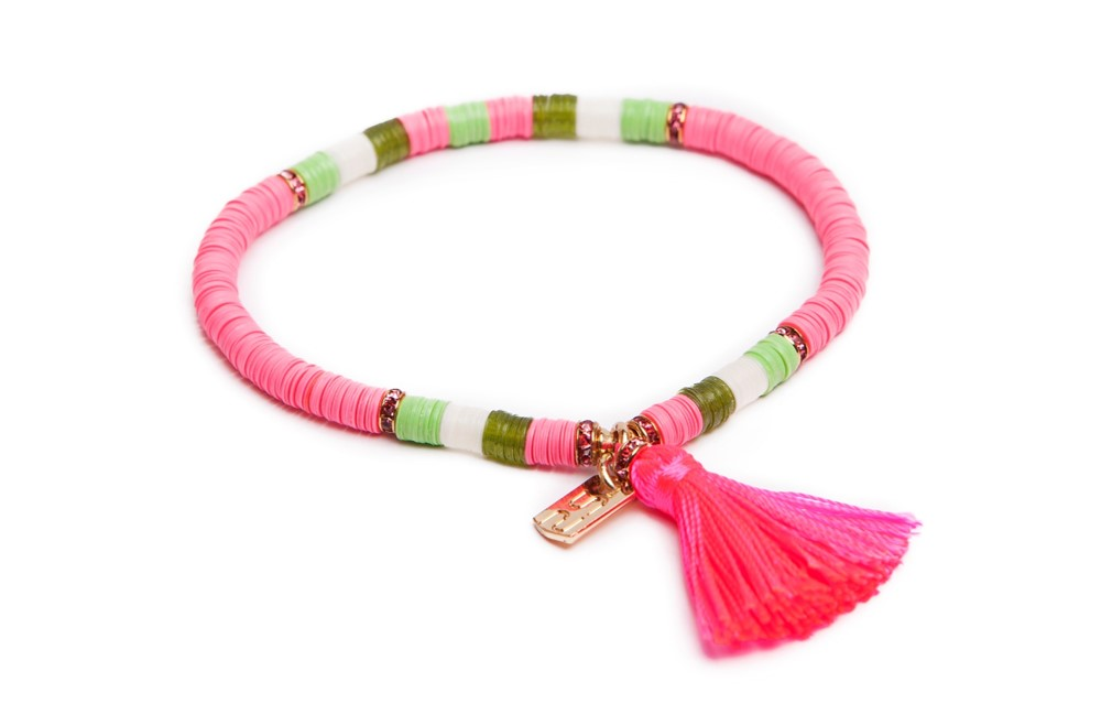 THE BOHO | FLUO PINK & GREEN