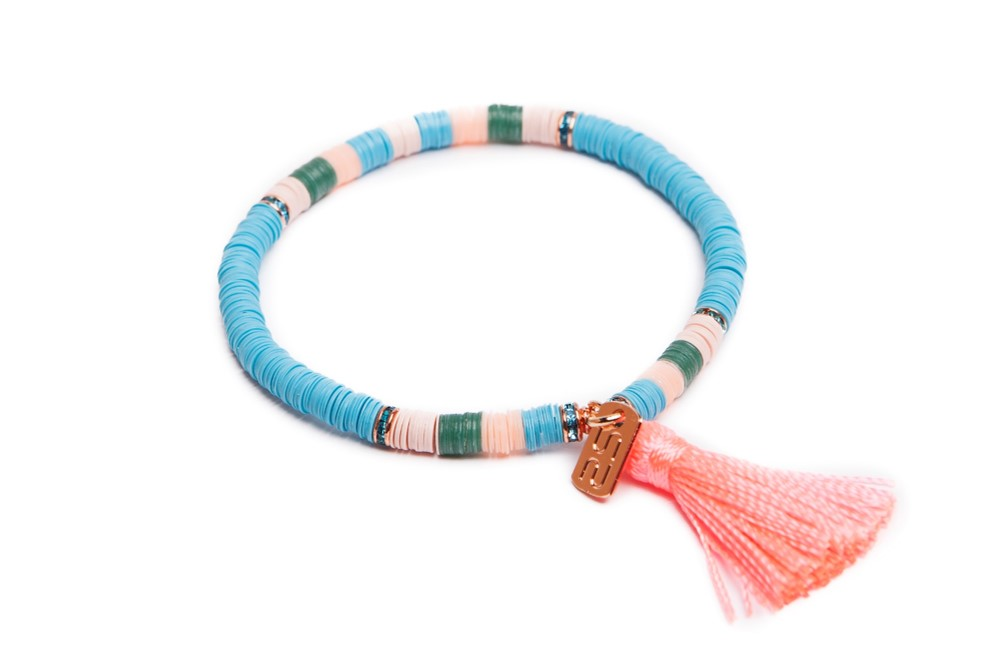 THE BOHO | TURQUOISE & CORAL