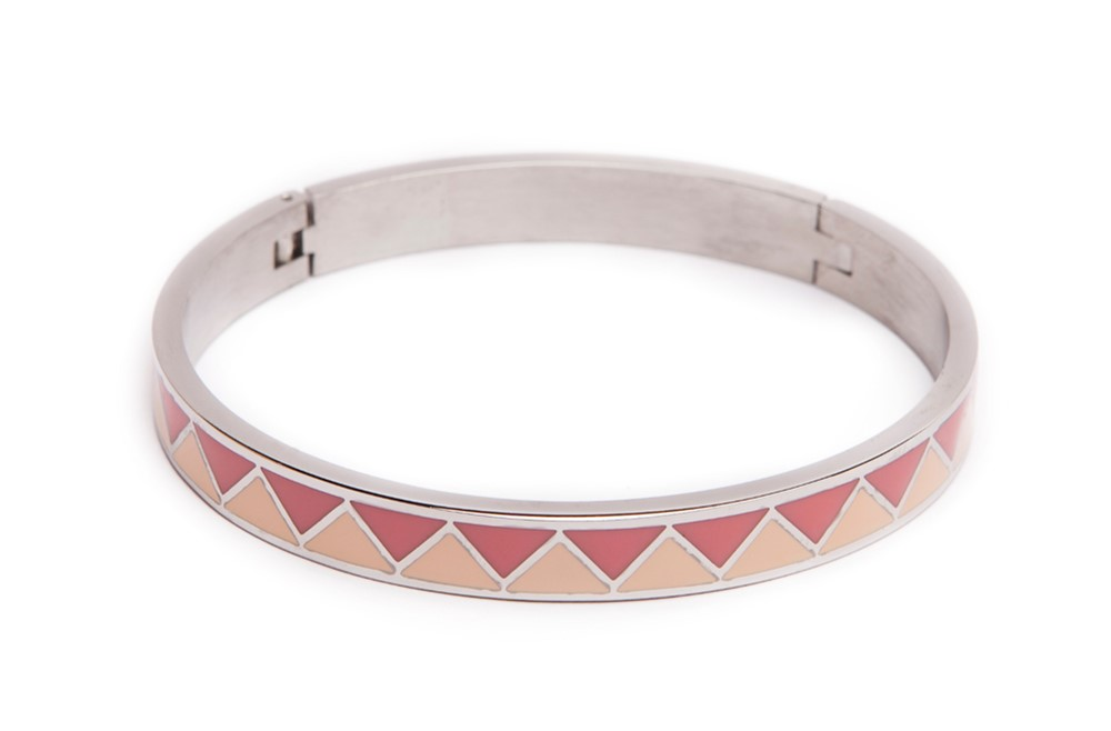 The Bangle Silver & Emaille | Silis Bracelet