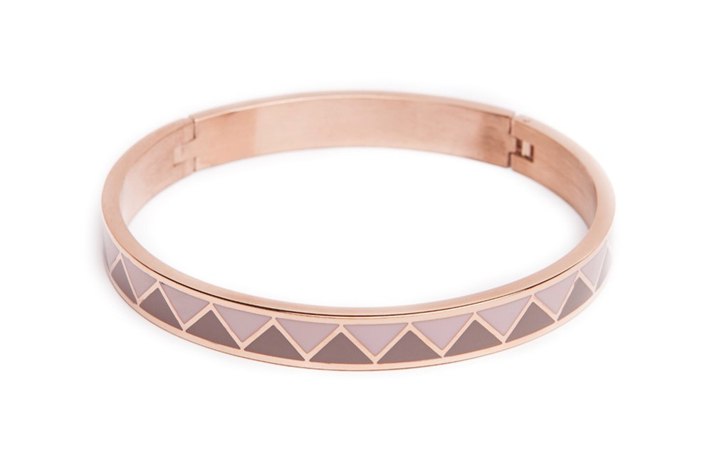 The Bangle | Pink Gold & Emaille