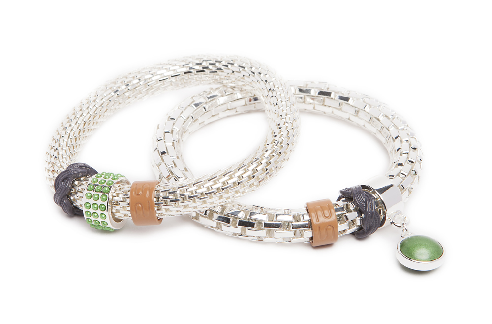 The Snake Strass Bracelet | So Silver & Pearl