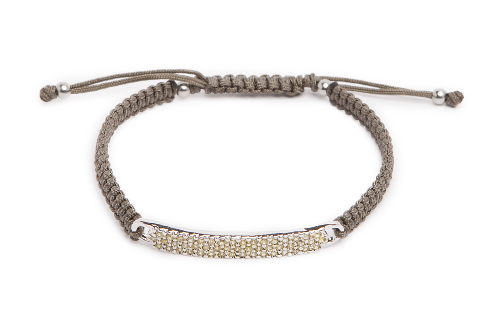 The Strass Handmade | Silver & Olive