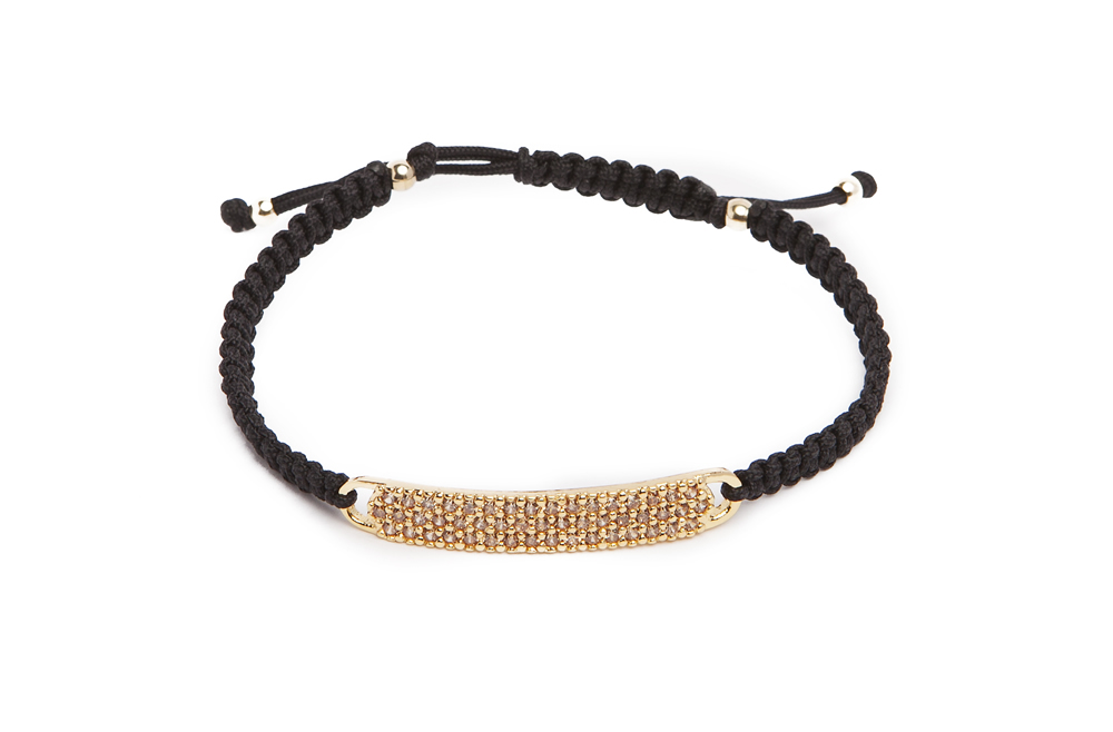 The Strass Handmade | Gold & Black