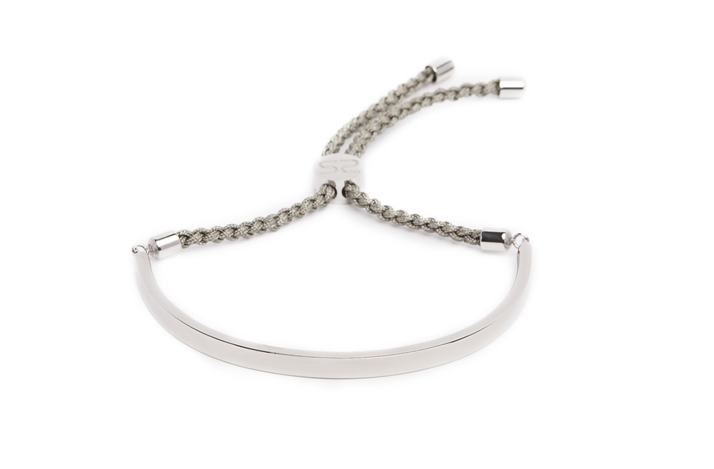The Bangle Cord So Silver & Olive | Silis Bracelet