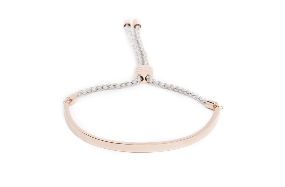 The Bangle Cord Rosé All Day & Grey | Silis Bracelet