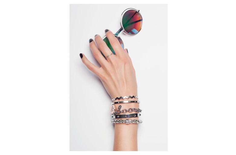 The Chain Addict So Silver | Silis Bracelet