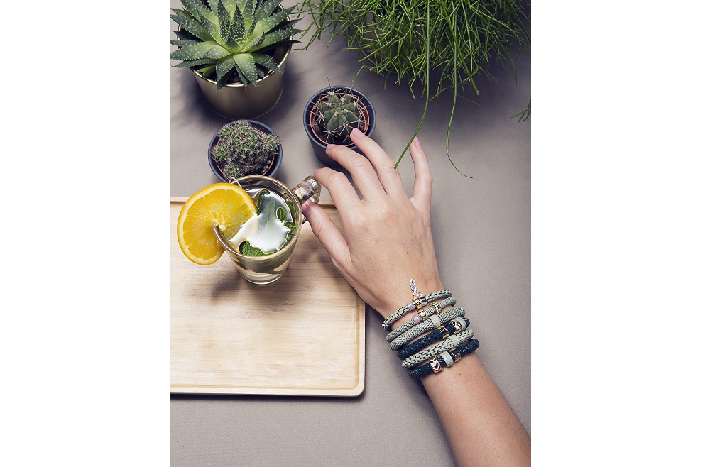 The Snake Mix Gasping Green | Silis Bracelet