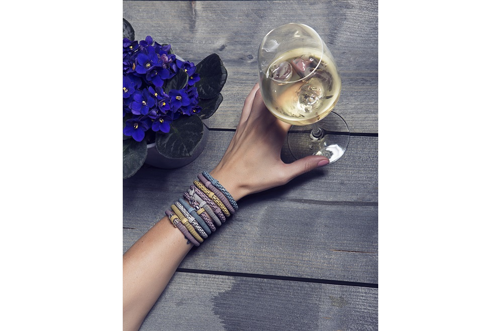 The Snake Mix Singing in the Blue | Silis Bracelet