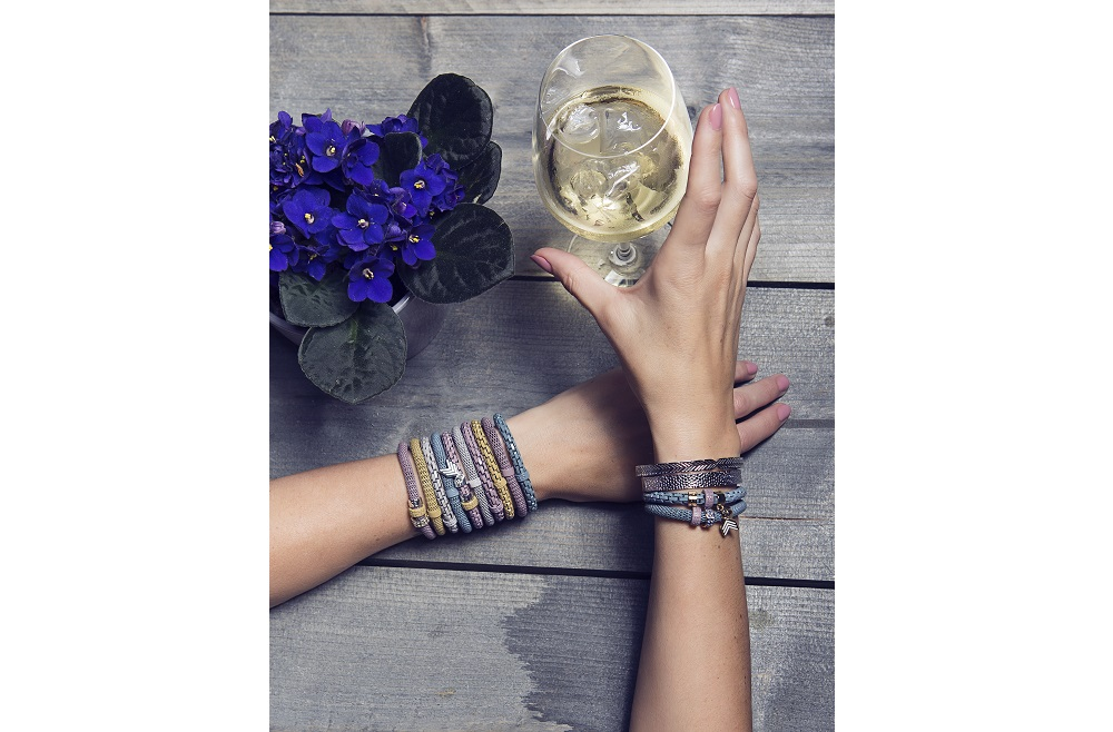 SINGING IN THE BLUE RAIN BRACELET | SILIS ARMBAND