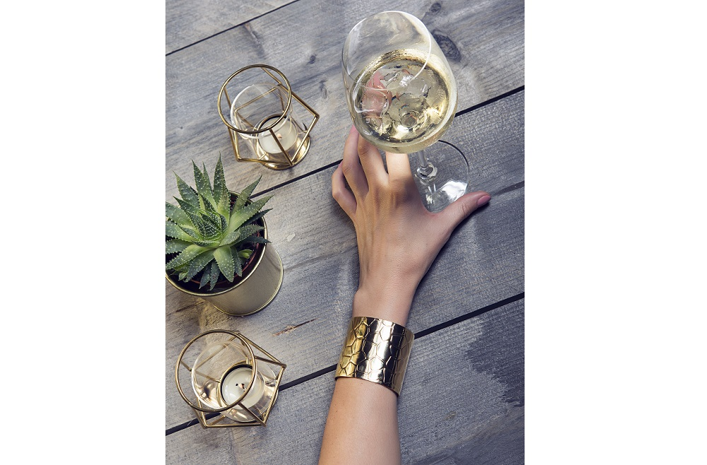 The Bangle XXL Gold Out | Silis Bracelet