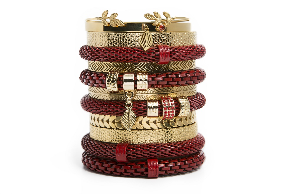 The Snake Mix Fire Me Up Red | Silis Bracelet