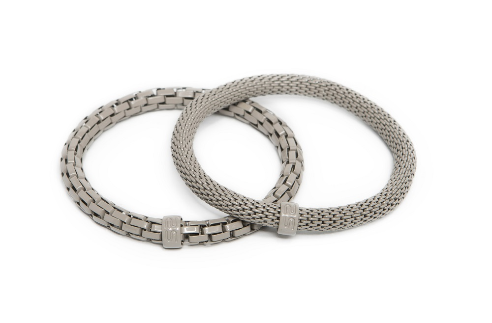 The Snake Mix Snowy Grey | Silis Bracelet