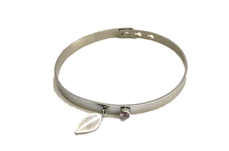 The Bangle Charm | So Silver & Leaf | Silis Armband