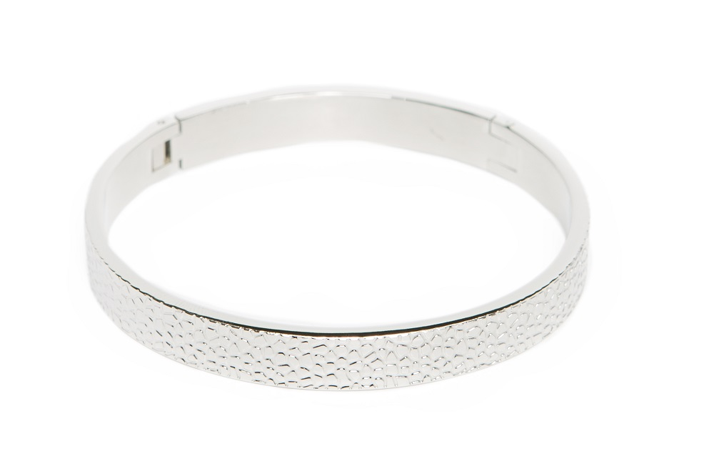 The Bangle Sculpture So Silver | Silis Bracelet