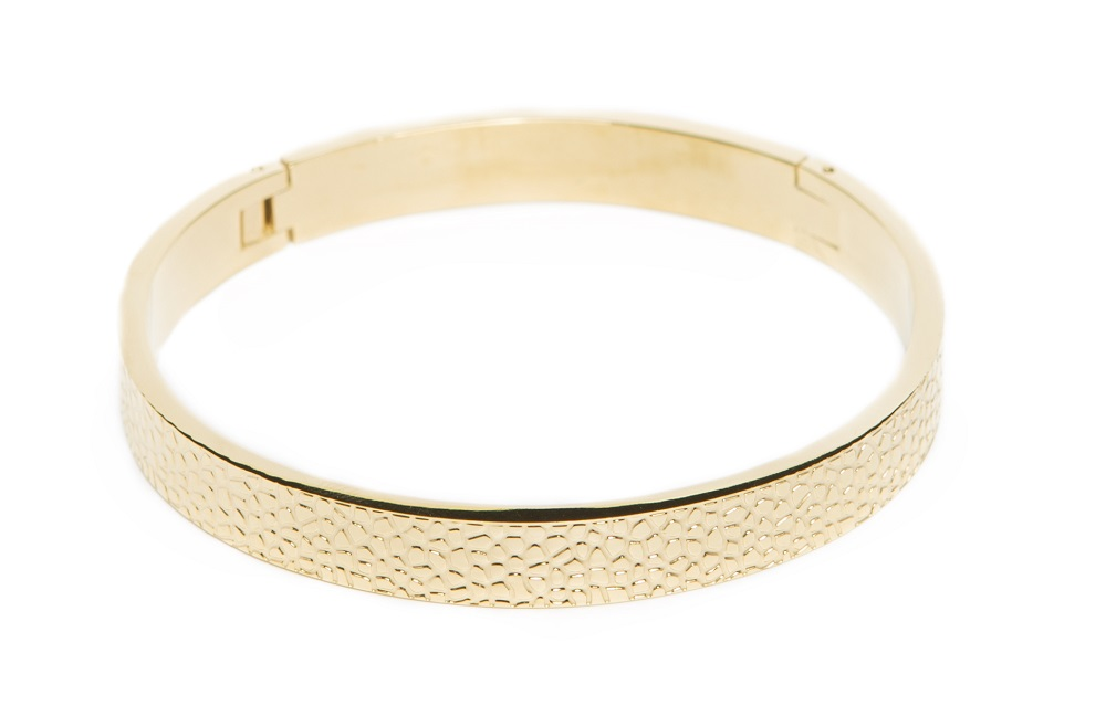 The Bangle Sculpture | Gold Out | Silis Armband