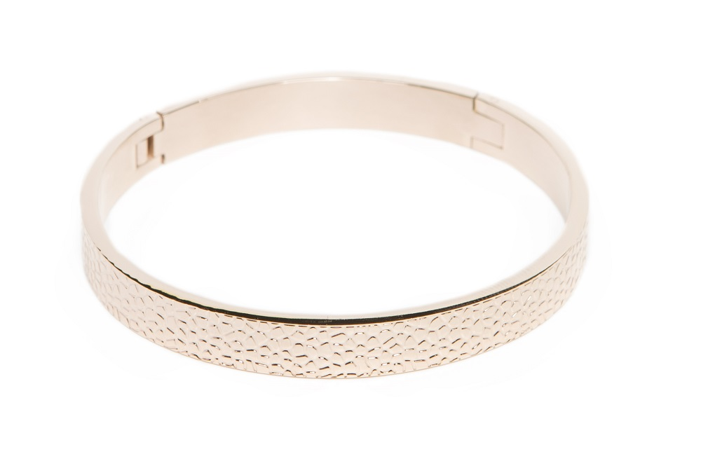 The Bangle Sculpture Rosé All Day | Silis Bracelet