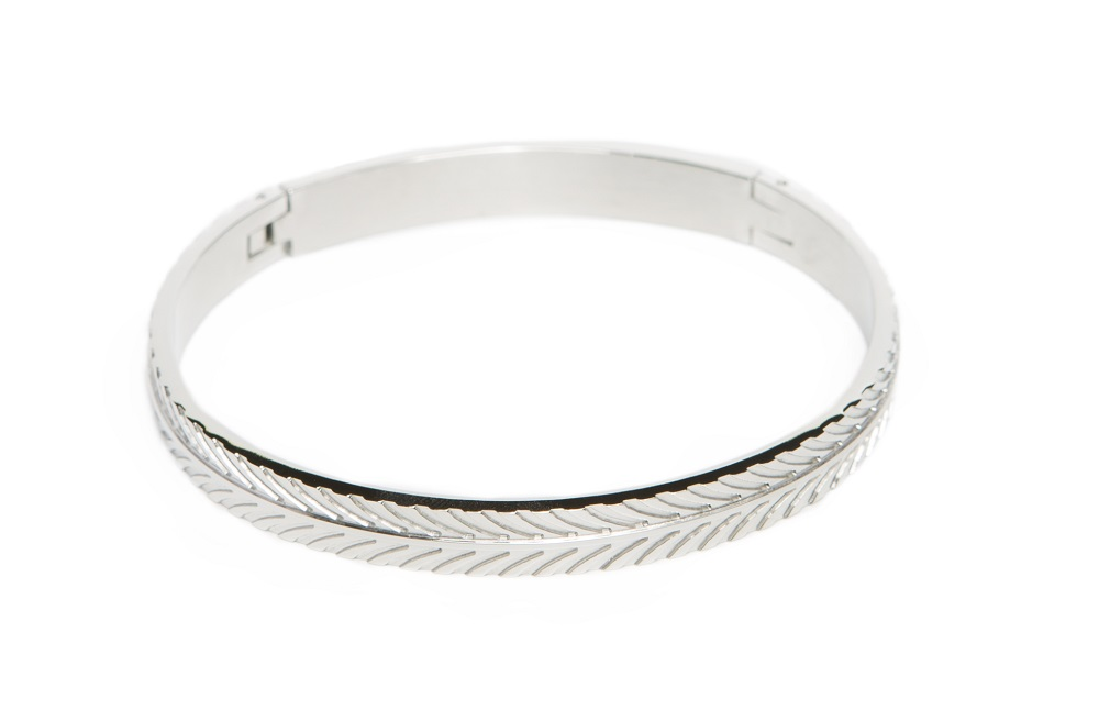 The Bangle Feather | So Silver | Silis Armband