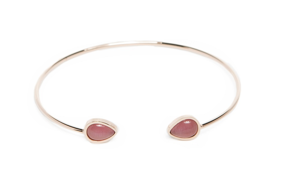 The Esclave Color Rosé All Day | Silis Clamp Cuff Bracelet
