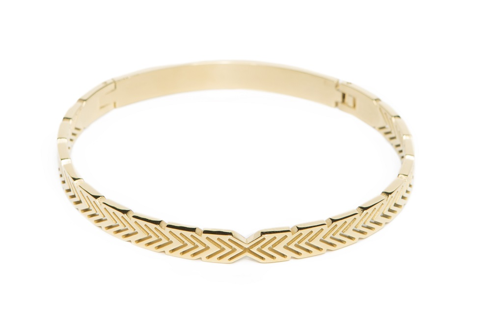 The Bangle Arrow Gold Out | Silis Bracelet