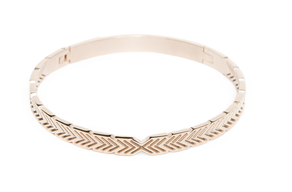 The Bangle Arrow Rosé All Day | Silis Bracelet