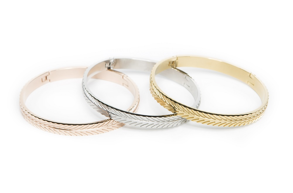 THE BANGLE FEATHER | GOLD OUT | SILIS ARMBAND