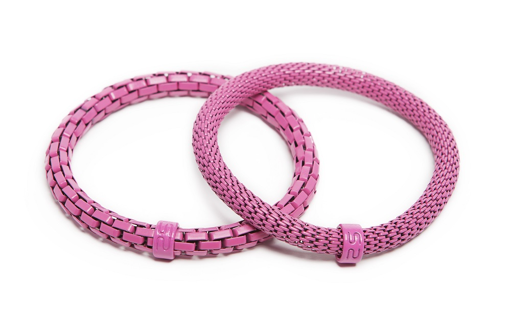 The Snake Mix Carmen Rose | Pink Silis Bracelet