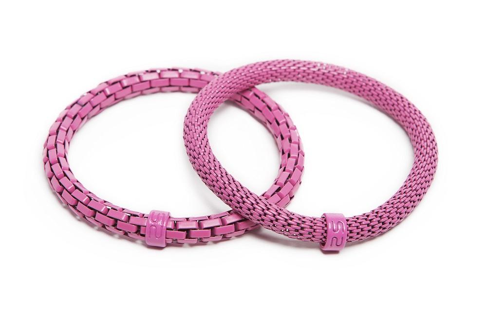 The Snake Mix Carmen Rose | Pink Silis Bracelet