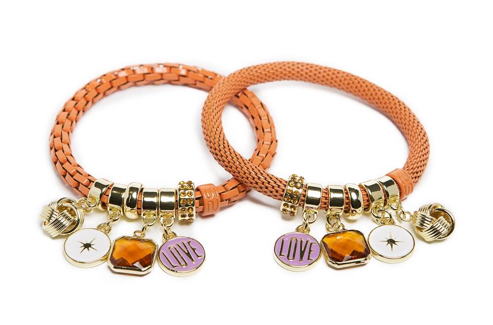 The Snake Strass Amber Glow Love Shake | Silis Bracelet