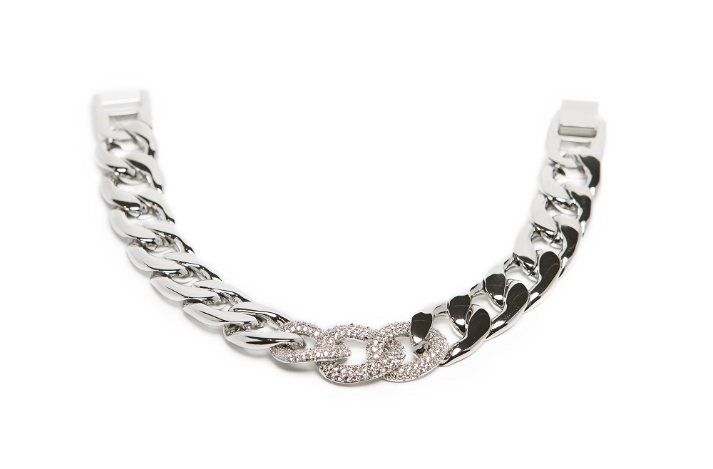 The Chain Strass So Silver | Silis Bracelet