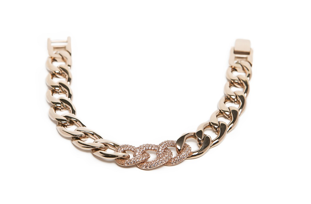 The Chain Strass Rosé All Day | Silis Bracelet