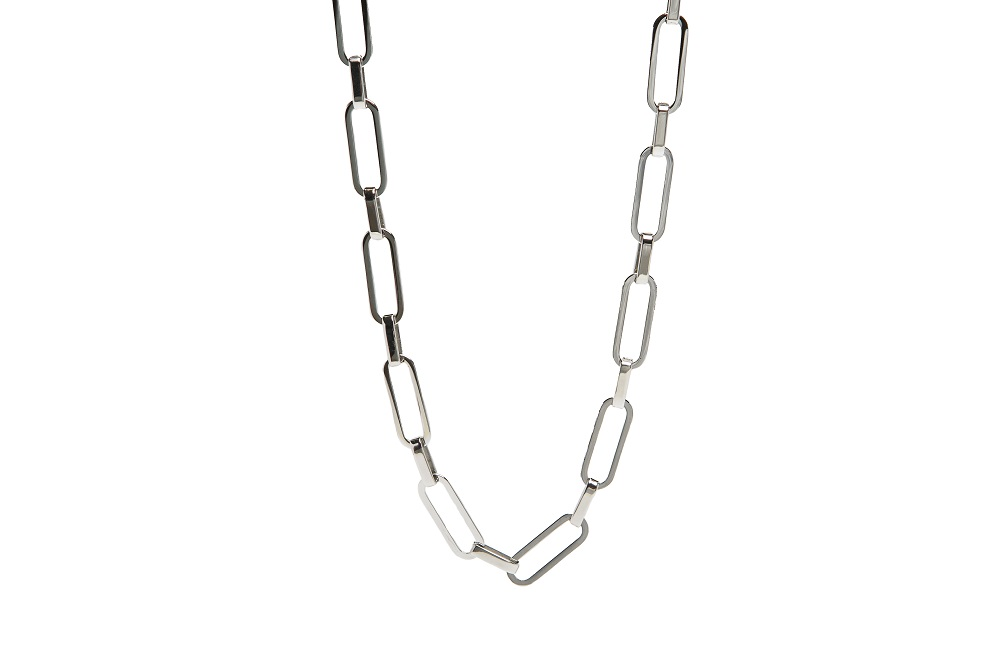 The Necklace Square So Silver | Silis Chain Necklace