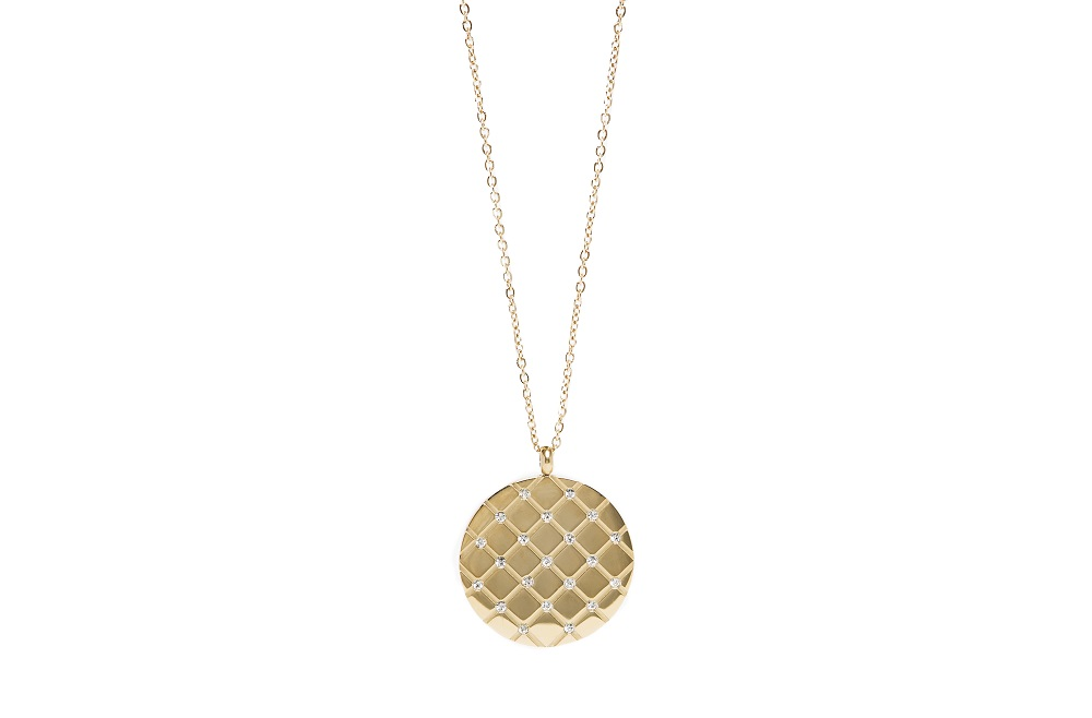 The Necklace Strass Grill Gold & Color Strass - IPG Gold Plating | Silis Charm Necklace