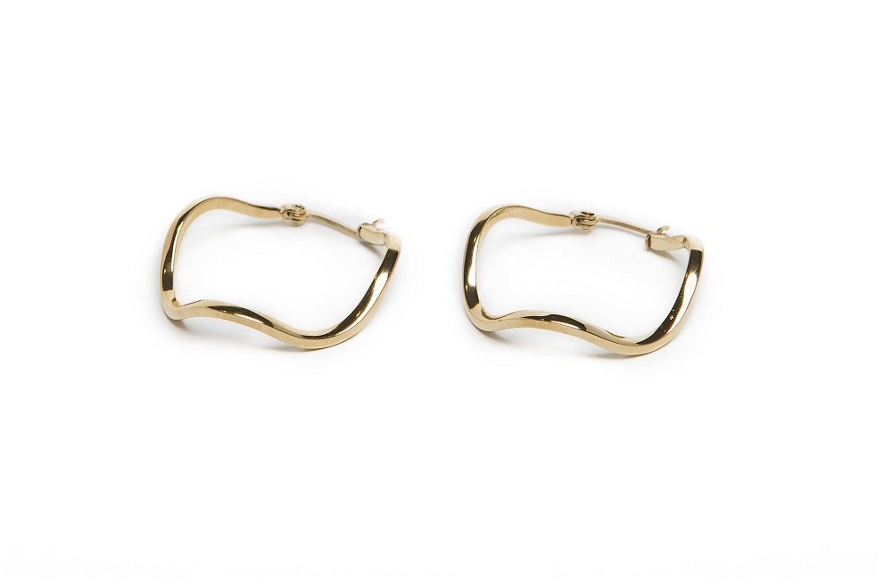 The Earrings Wave Rosé All Day | Silis Hoop Earrings