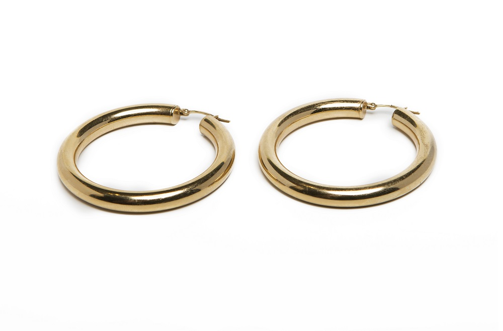 The Earrings My Hoops Gold Out | Silis Hoop Earrings