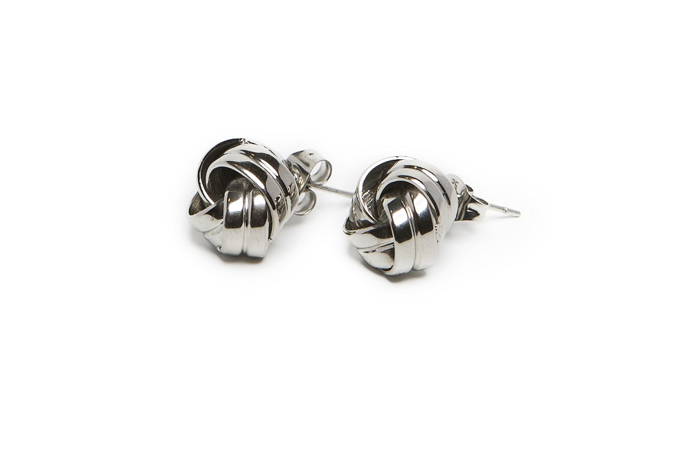 The Earrings Knots So Silver | Silis Stud Earrings