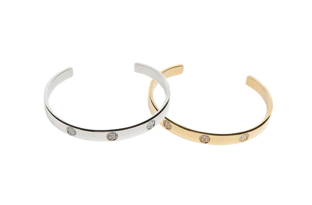 The Esclave Strass So Silver | Silis Clamp Cuff Bracelet