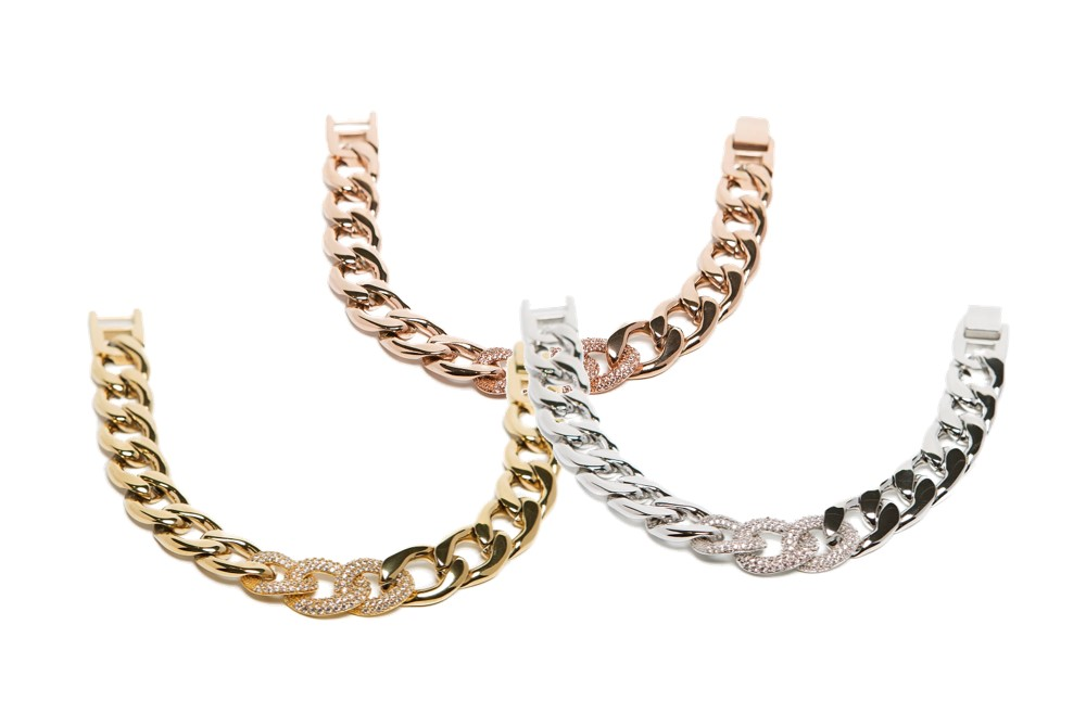 The Chain Strass Gold Out | Silis Bracelet