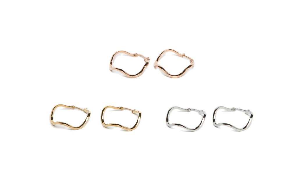The Earrings Wave So Silver | Silis Hoop Earrings