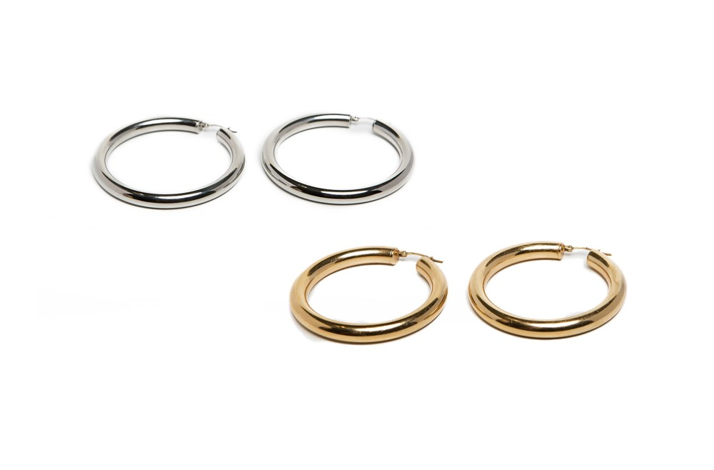 The Earrings My Hoops So Silver | Silis Hoop Earrings
