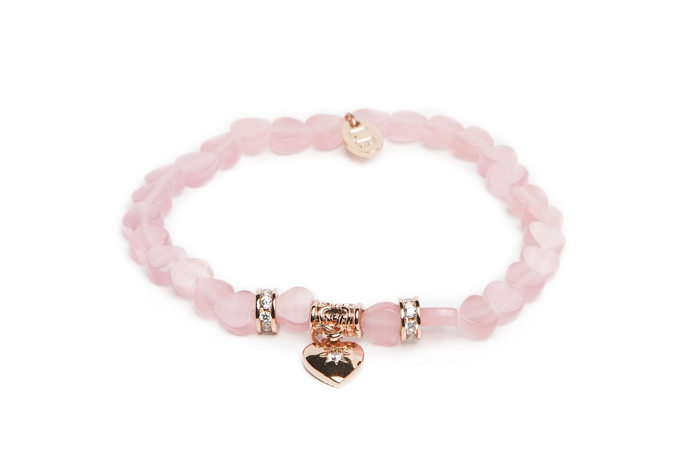 CALCUTTA | POWDER PINK & PINK GOLD BRACELET