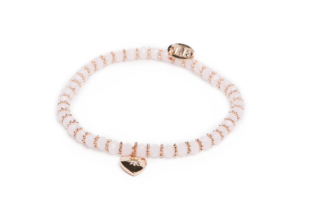 GANGES | POWDER PINK & PINK GOLD BRACELET