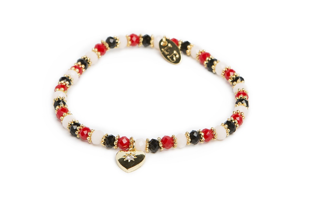 GANGES | DEEP BLACK - MIXED & GOLD BRACELET